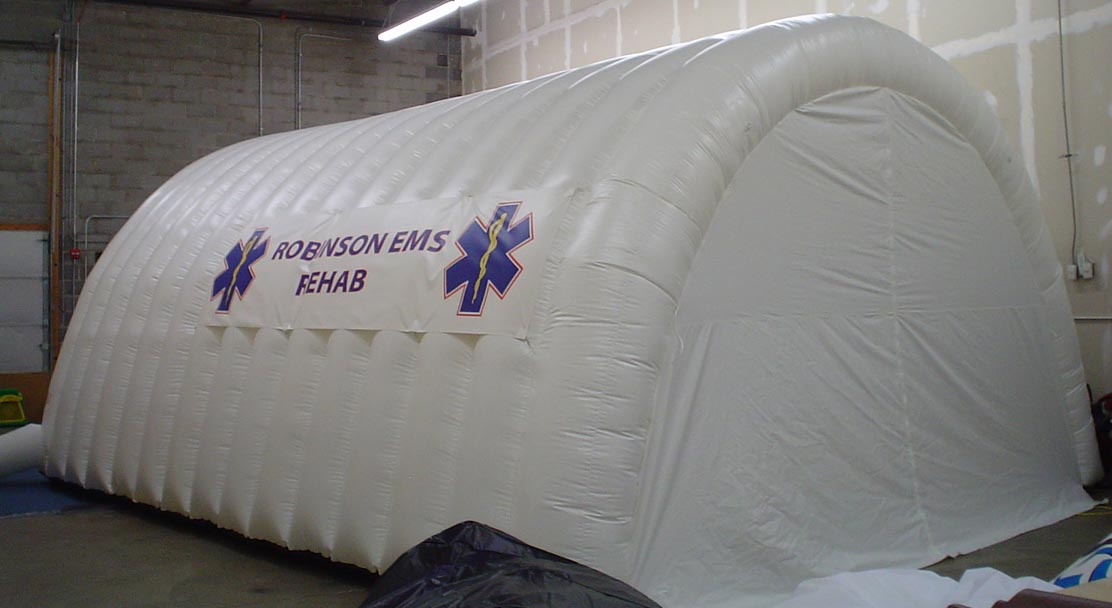 Inflatable Rehab Shelter